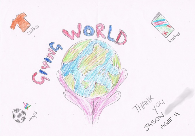 Giving World Drawing